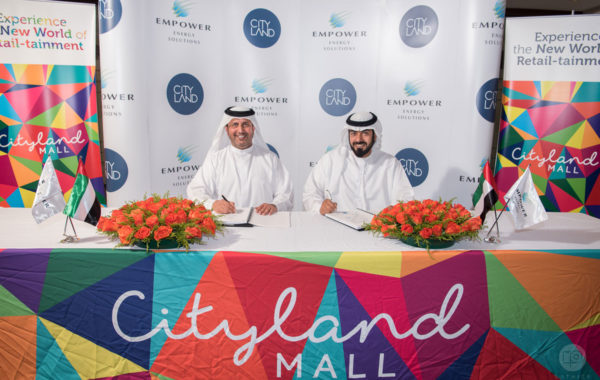 Empower adds Cityland Mall to its frontline projects to provide district cooling services with AED 150 million investment