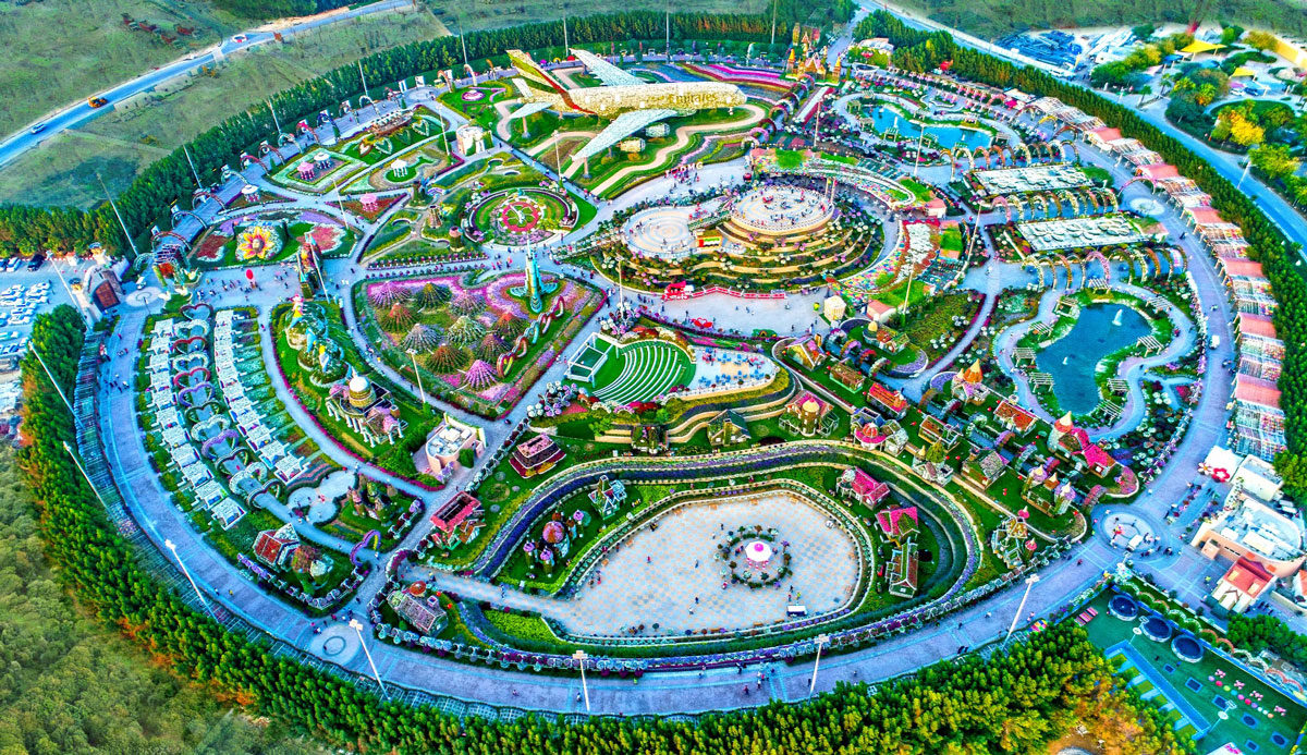 """Dubai Miracle Garden all set to """"bloom"""" ahead of a dramatic winter opening"""